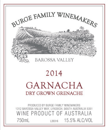 2016 Garnacha Dry Grown Grenache