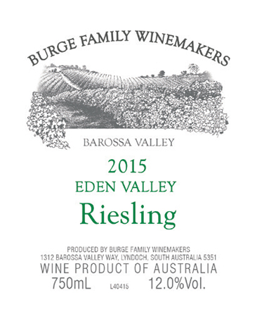 2015 Eden Valley Riesling